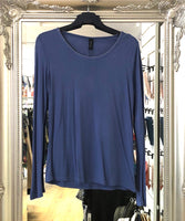 Blue Edge Jersey top NOW £5