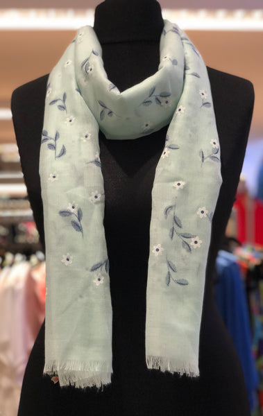 Scattered Flower Scarf