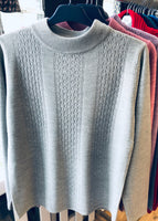 Cashmere Feel Turtle Neck Jumper