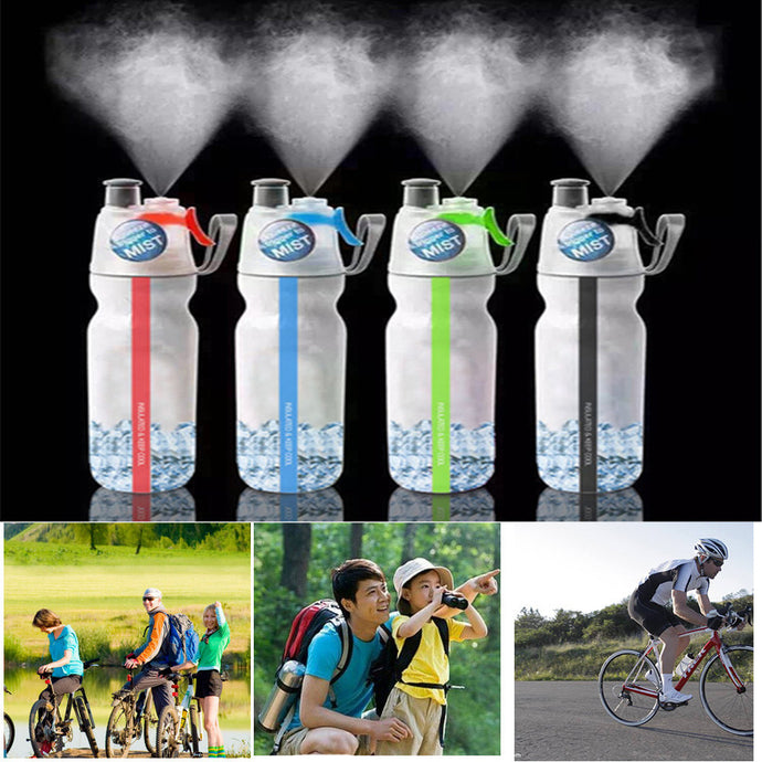 Portable Camping Sport Bottles With Spraying Function