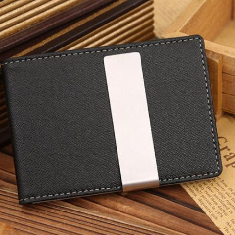 Leather Magic Money Clip Wallet and Credit Card Holder