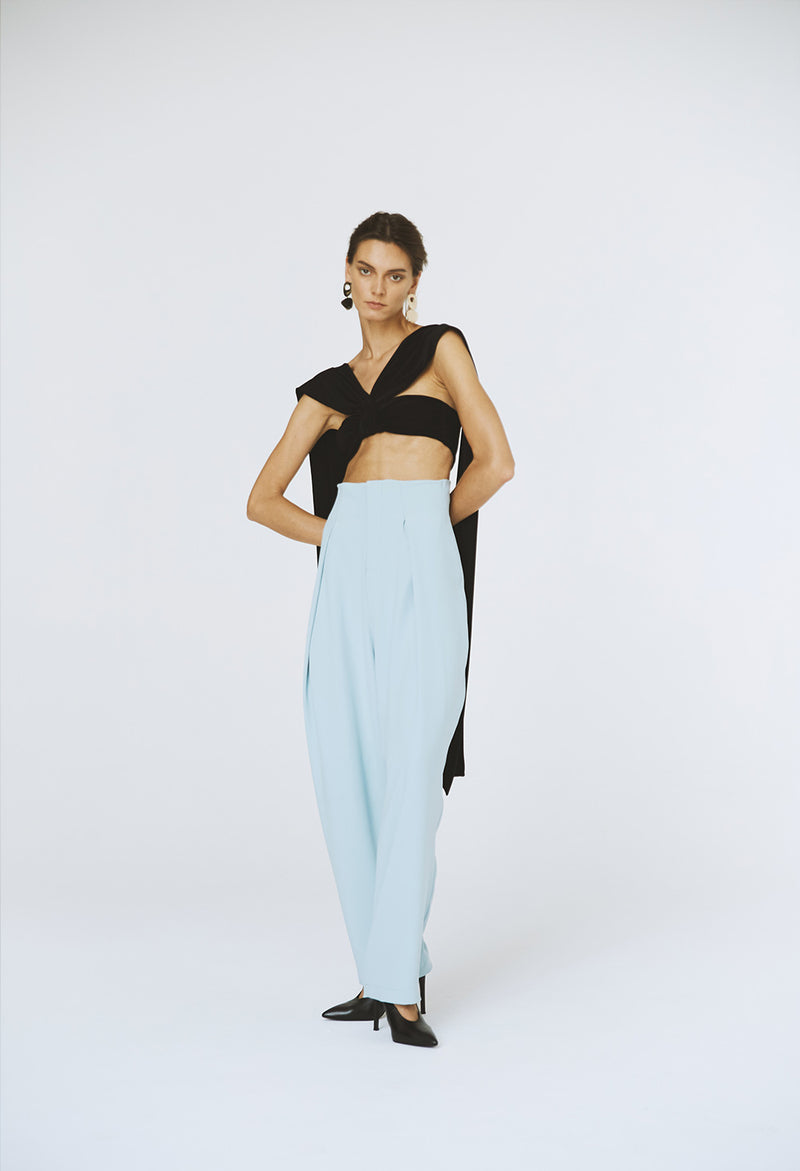 Mint Green Pleated pants