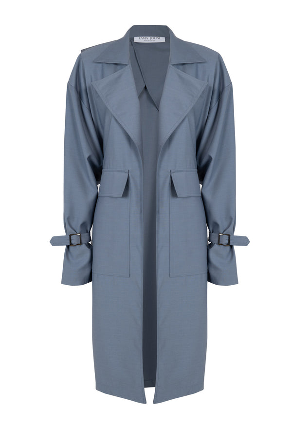 Light Blue Trench