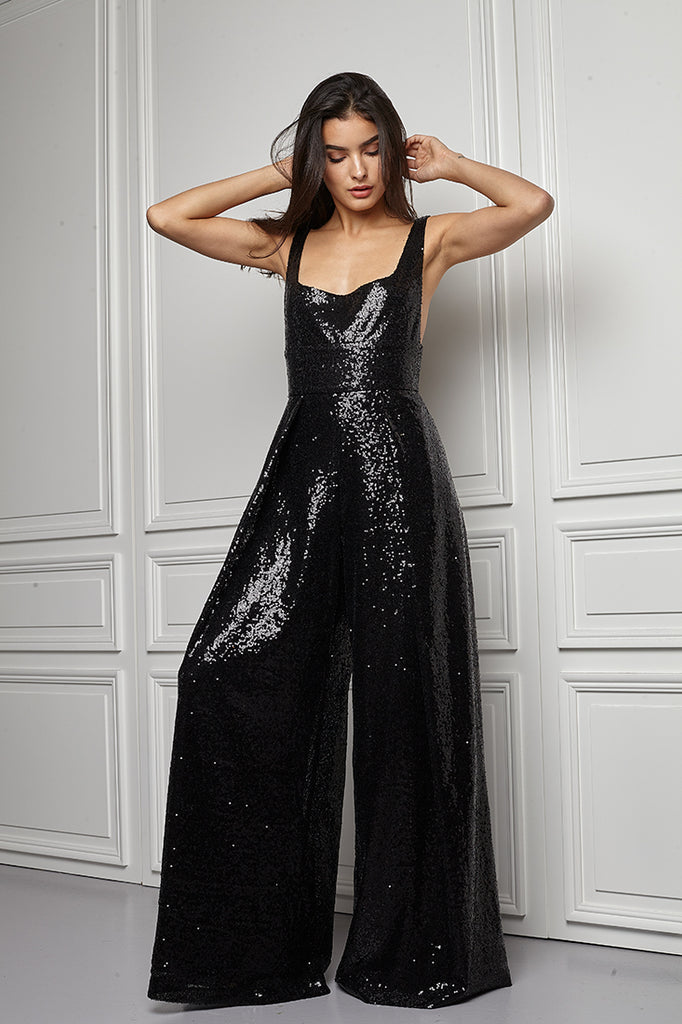 Sequin Jumpsuit