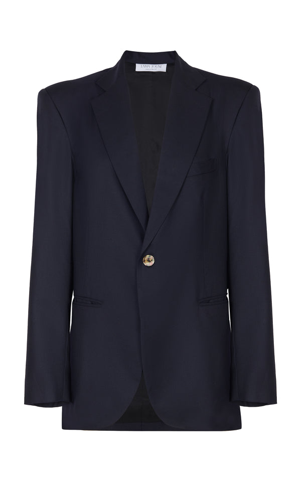 NAVY OVERSIZED SUIT JACKET