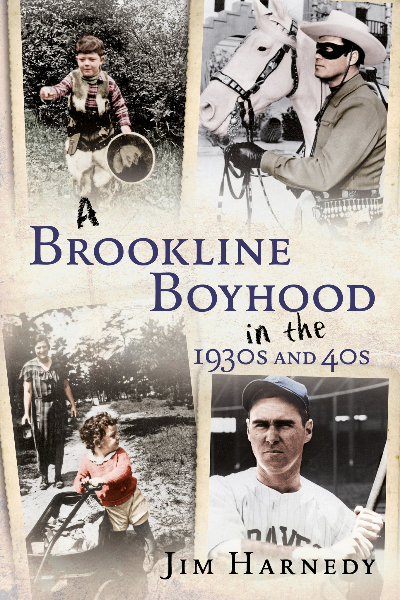 A Brookline Boyhood in the 1930s and 40s - available from Fonthill Media