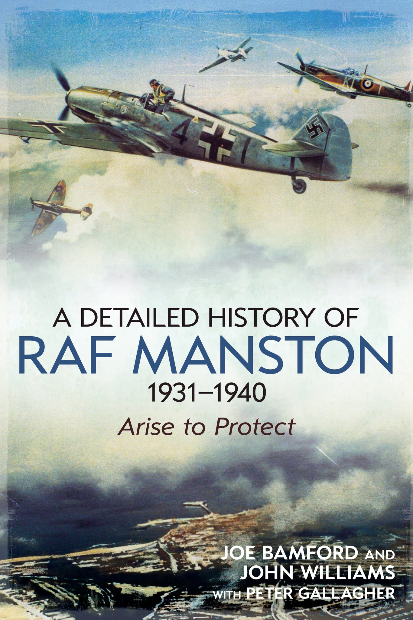 A Detailed History of RAF Manston - available now from Fonthill Media