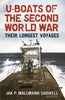 U-boats of the Second World War: Their Longest Voyages (hardback edition)