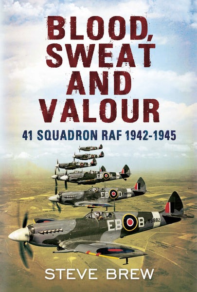 Blood Sweat and Valour: 41 Squadron RAF 1942-1945 - available now from Fonthill Media