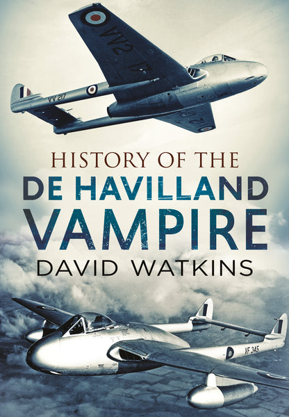 History of the de Havilland Vampire (paperback edition)
