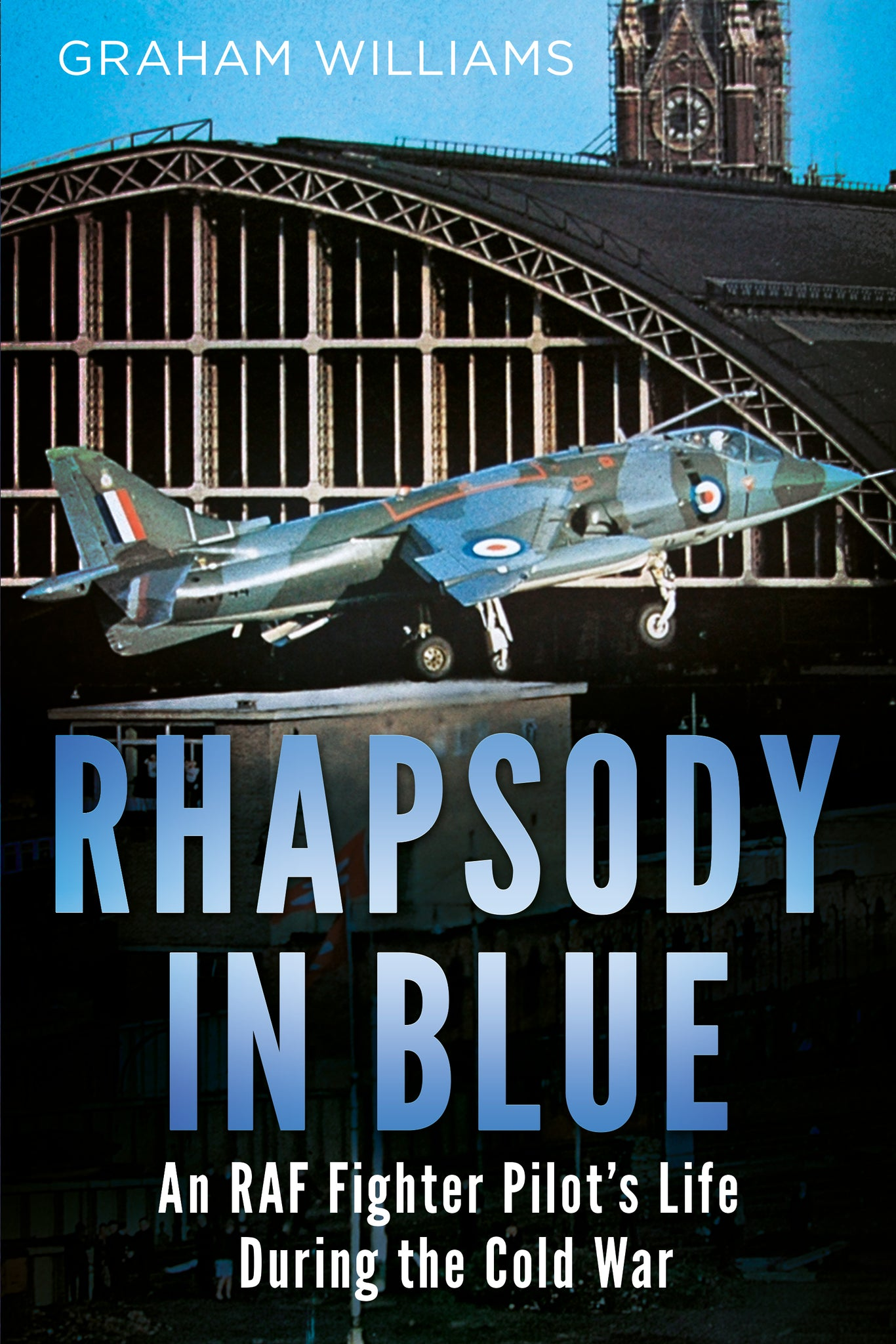 Rhapsody in Blue: An RAF Fighter Pilot's Life During the Cold War (paperback edition)