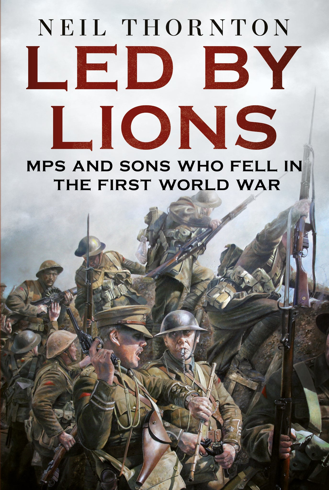 Led by Lions - published by Fonthill Media
