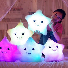 LED Glowing Star Pillow