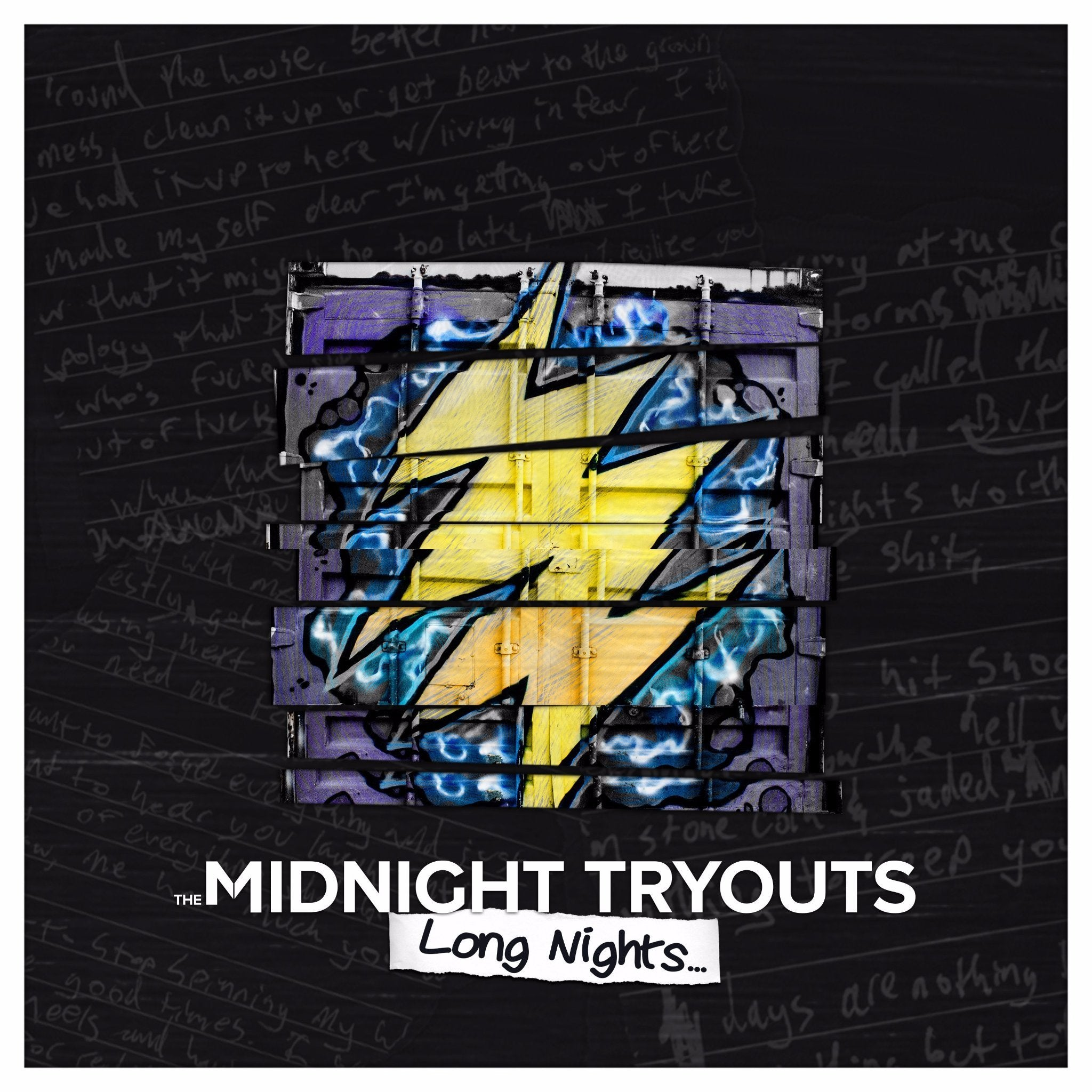 The Midnight Tryouts - Long Nights... EP Album Art