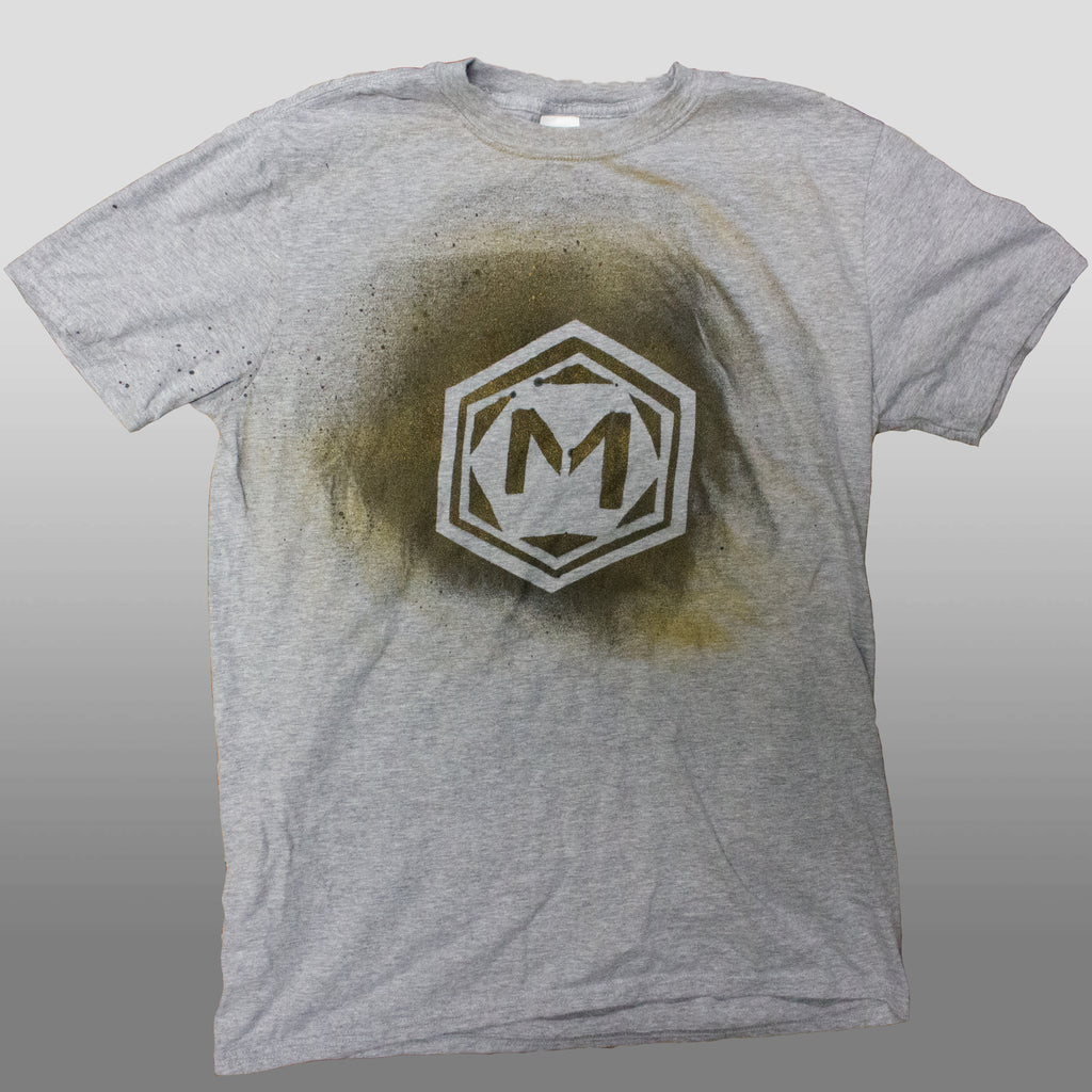 The Midnight Tryouts Premium T-Shirt - Grey w/ Black & Gold Print