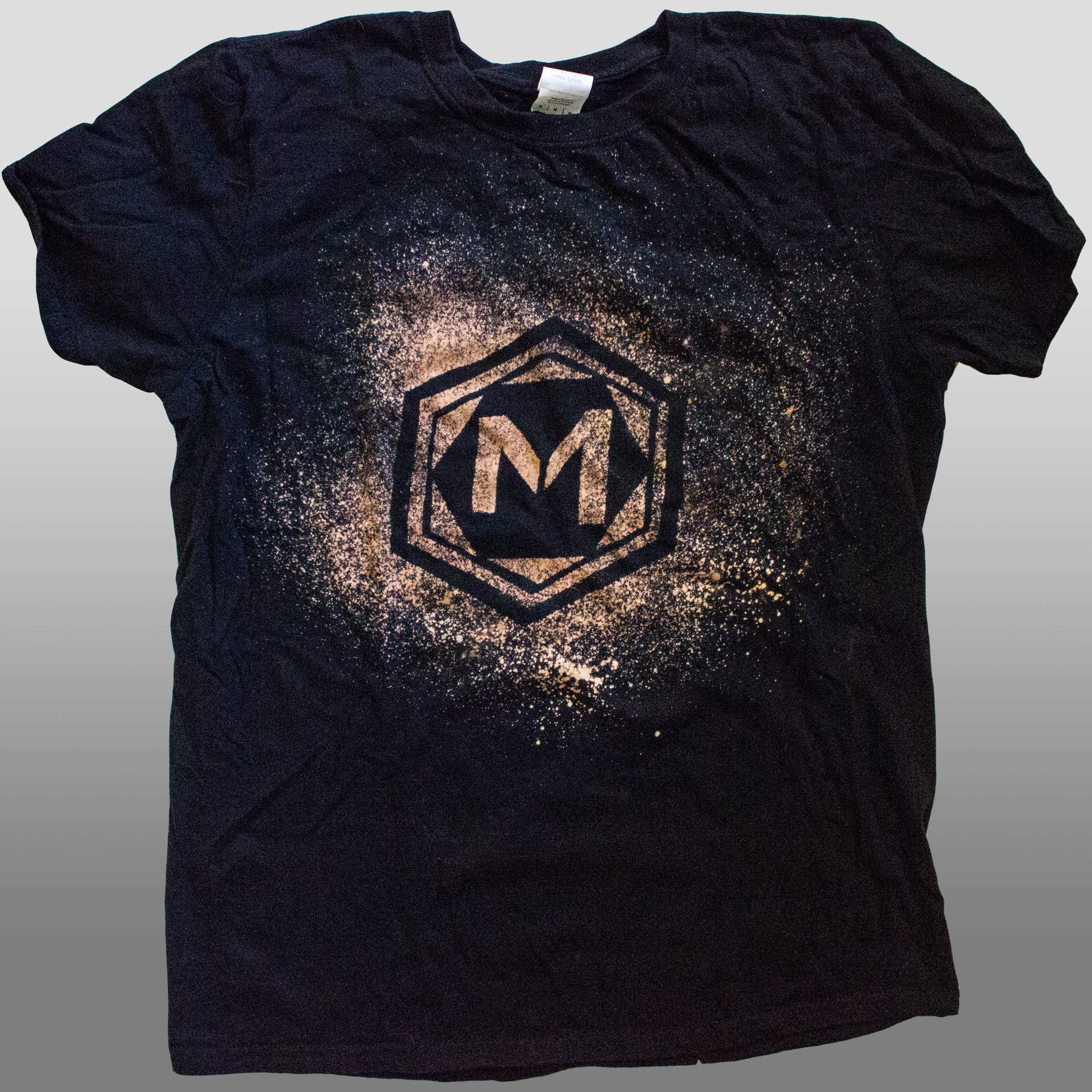 The Midnight Tryouts Standard T-Shirt - Black w/ Bleach Print