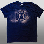The Midnight Tryouts Standard T-Shirt - Navy Blue w/ Bleach Print
