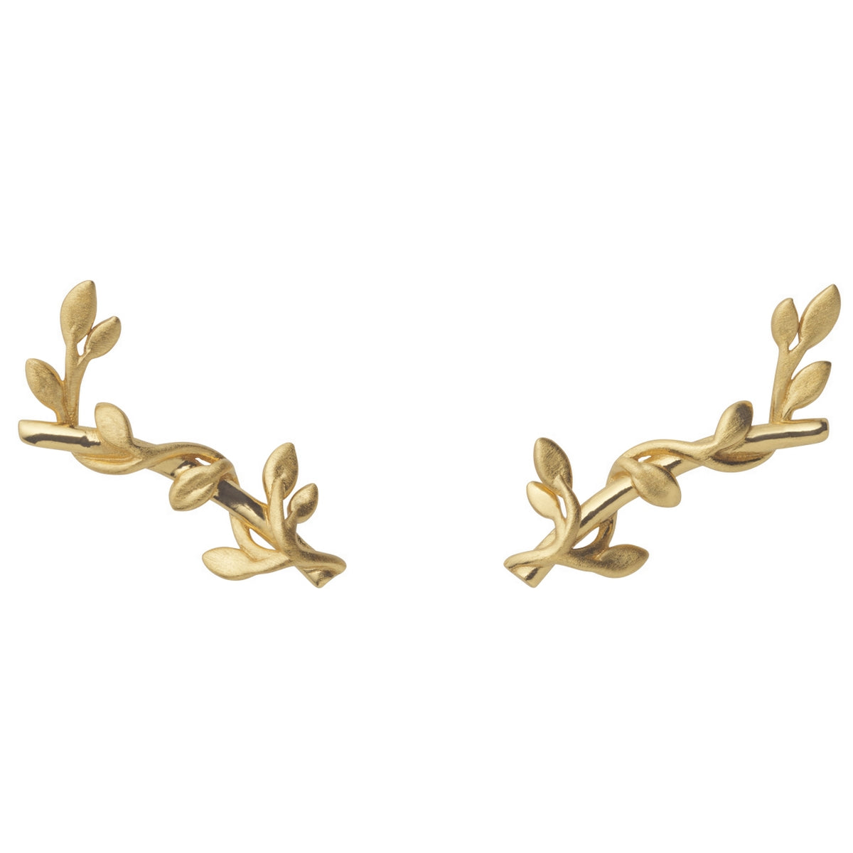 Jungle ivy earstik - gold Earring