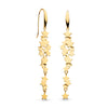 Kit Heath Stargazer Galaxy Gold Plate Drop Earrings