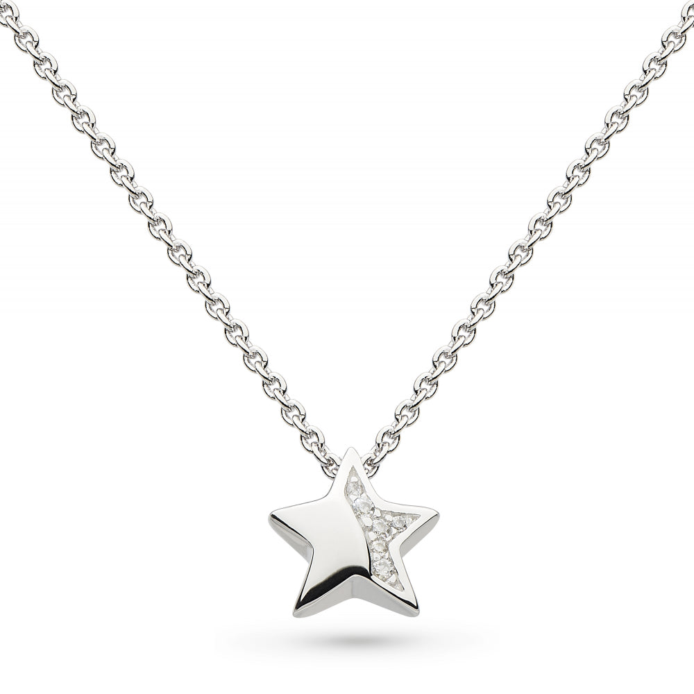 Kit Heath Miniature Sparkle CZ Shining Star Necklace
