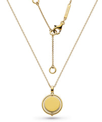 Kit Heath Empire Revival Round Spinner Gold Necklace