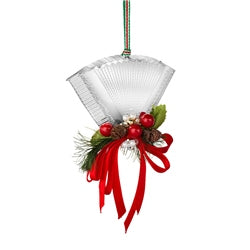 Newbridge Silverware Accordian with Garland Hanging Decoration