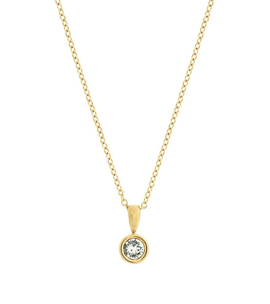 Edblad Dew Drop Necklace Gold