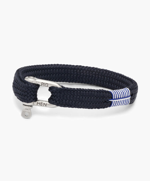 Pig & Hen Sharp Simon Navy | Silver