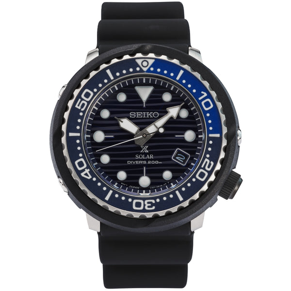 seiko gents prospex solar divers 200 meters strap watch special edition save the ocean