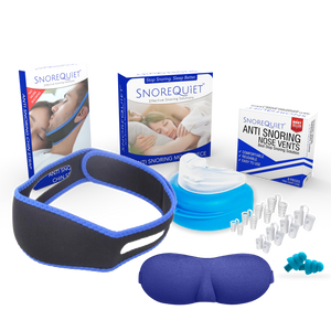 [50% OFF] SnoreQuiet™ 5-in-1 Anti Snoring Kit