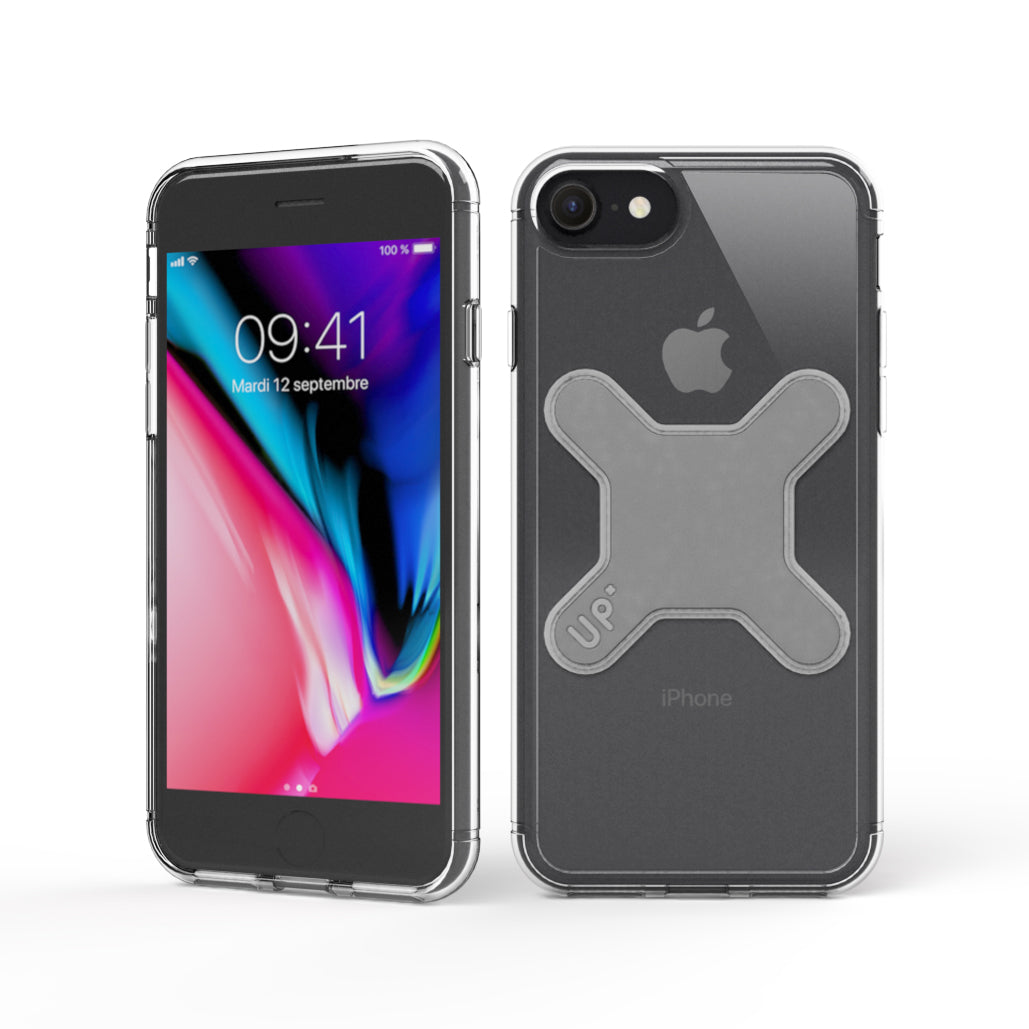 iPhone 8 - Crystal magnetic case for UP Wireless Charging