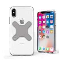 iPhone X -Crystal magnetic case for Up' wireless charging