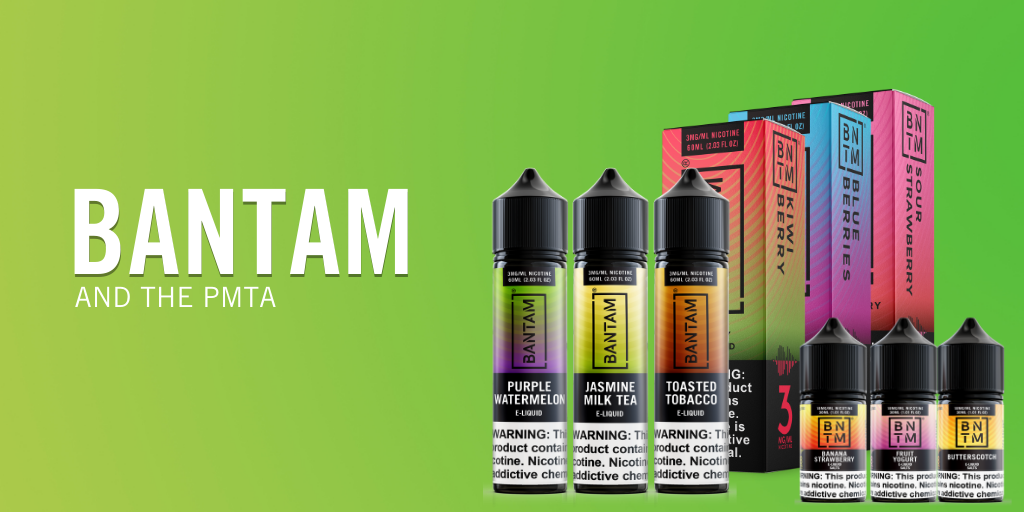 bantam vape pmta submitted and accepted featured blog image