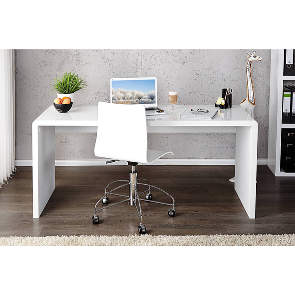 Birou alb 120cm Fast Trade Desk White