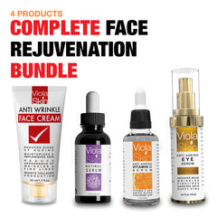 70% OFF COMPLETE Face Rejuvenation Bundle (4 Full Size Products in 1)