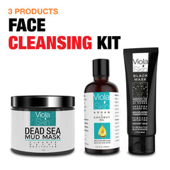 Face Cleansing Kit (3 Full Size Products in 1)