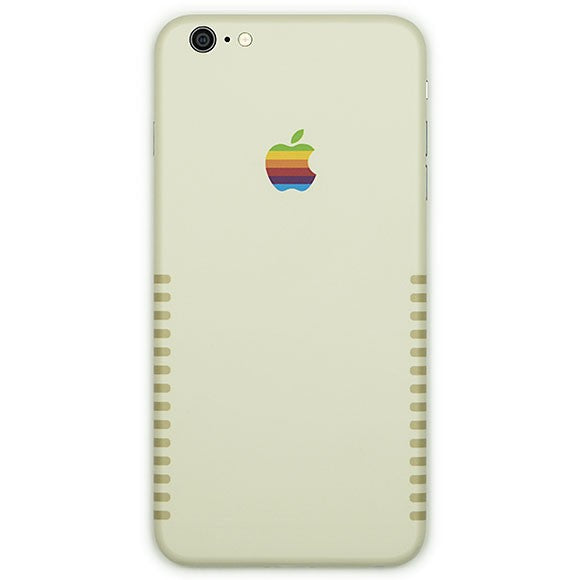 IPHONE 6 APPLE RETRO SKIN