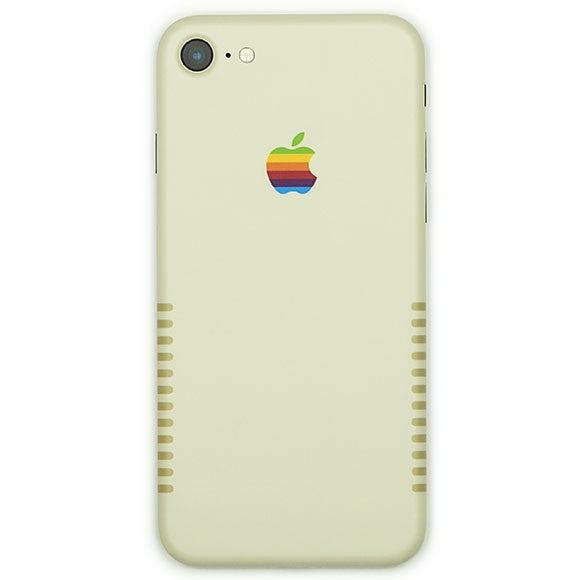IPHONE 7 APPLE RETRO SKIN