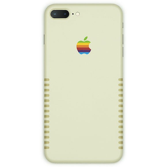 IPHONE 8 PLUS APPLE RETRO SKIN
