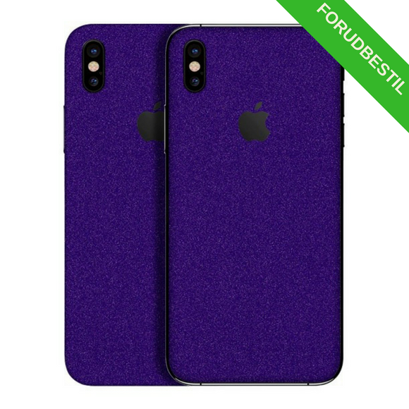 IPHONE X GLIMMER FOLIE/SKIN PIGE KOLLEKTION