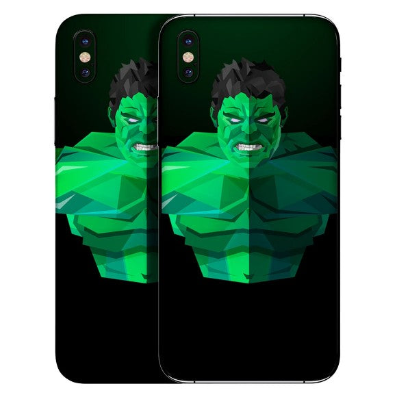 Hulk-Skin-Folie-iPhone X
