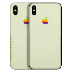 Apple-Retro-skin-iPhone X