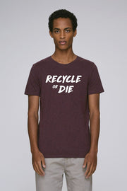 Recycle or Die Wine T-Shirt - Future Humans