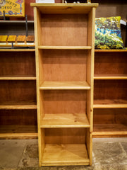 Custom Solid Pine Bookcase 4ft - Thin Variant