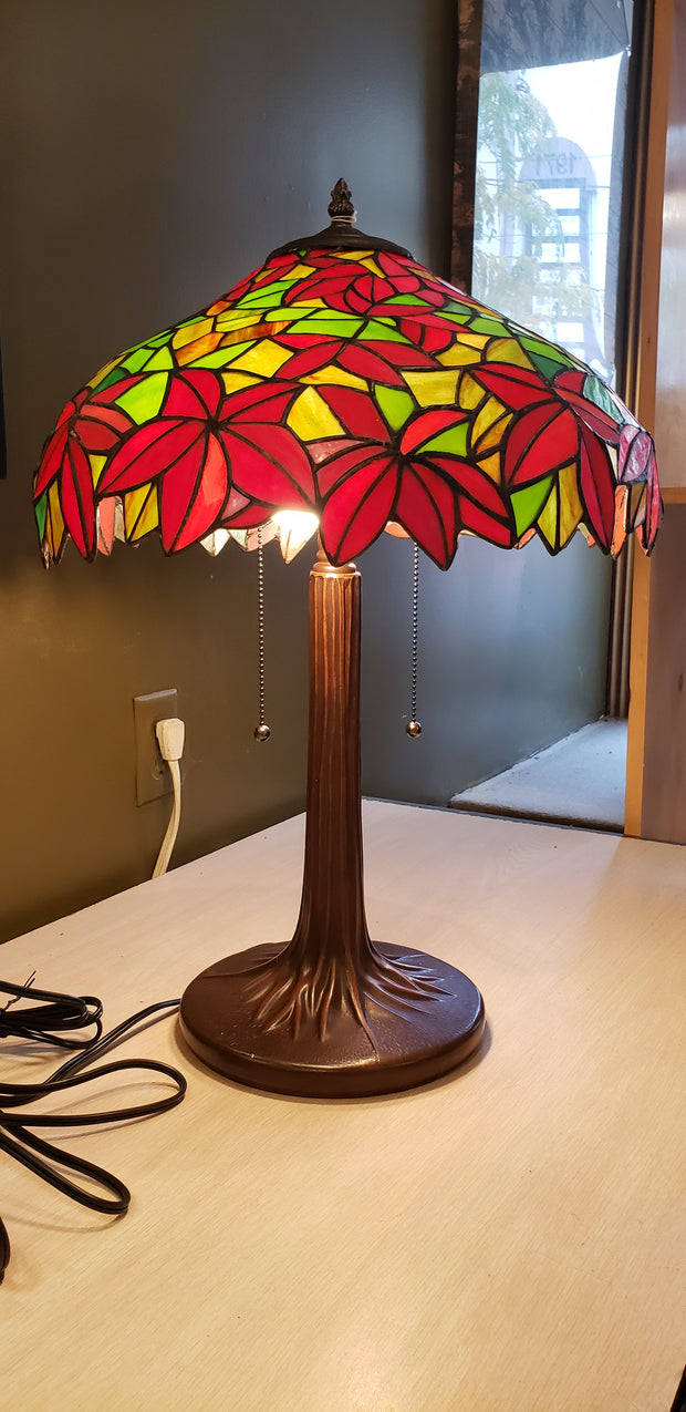 Flower Tapestry Stained Glass Lamp  TL1607