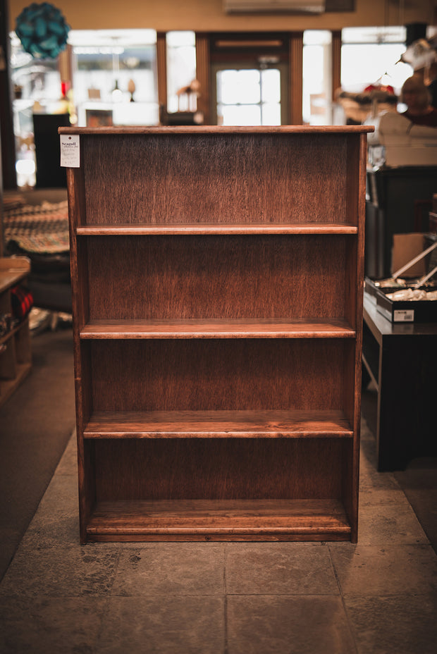 Custom Solid Pine Bookcase 4ft