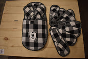 Chalet Chic 5 Pairs of Assorted Size Slippers