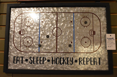 Magnetic Hockey Memo Board