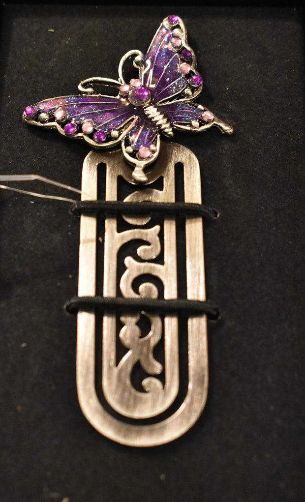 Jeweled Metal Bookmarks