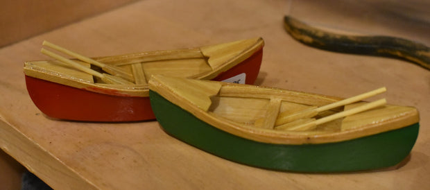 Wooden Canoes